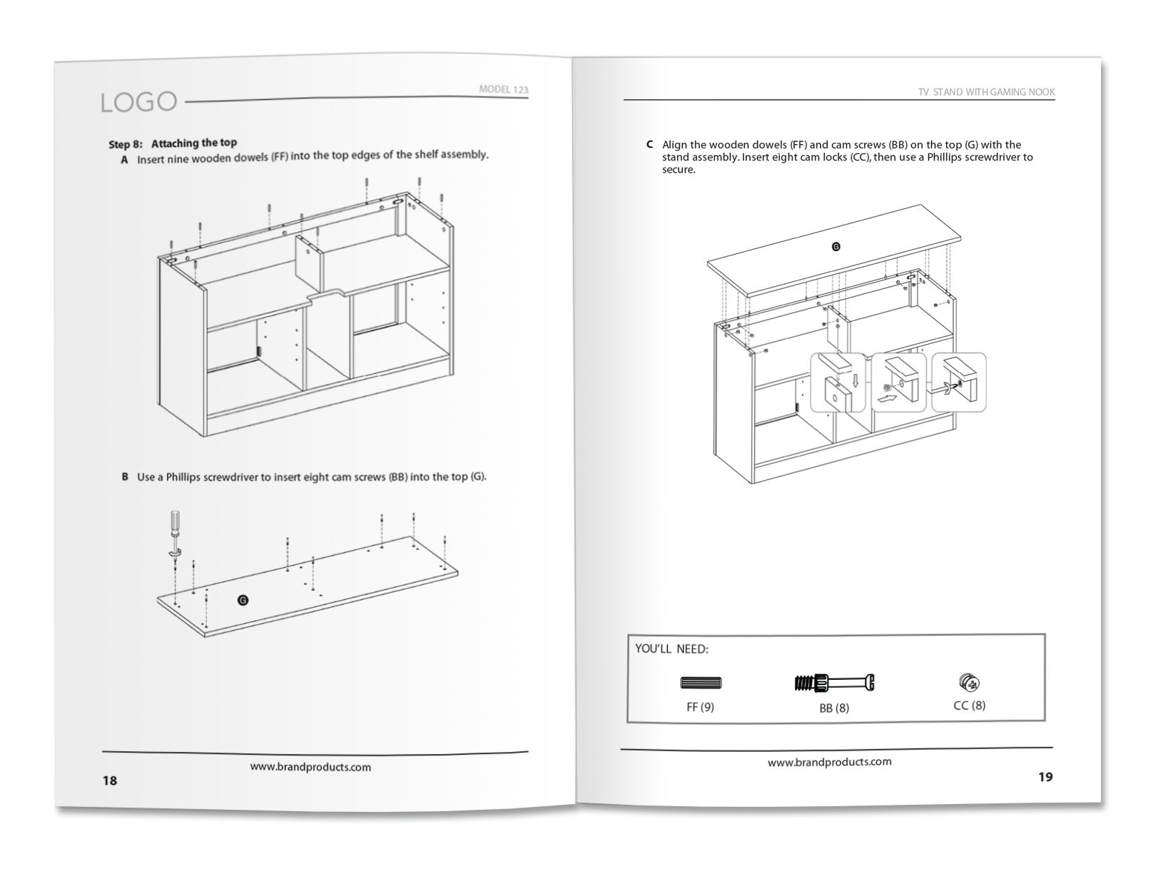 Product manual example